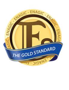 Enagic The Gold Standard Logo